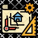 Construction Plan Icon