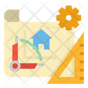 Construction Plan Icon