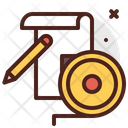 Ruller Sketch Icon
