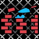 Brick Builder Construction Icon