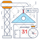 Construction Schedule Icon