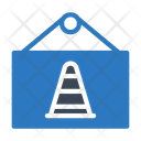 Board Hanging Cone Icon