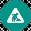Construction Sign Traffic Icon