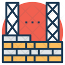 Construction Site Building Icon