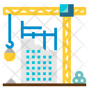 Construction Industry Crane Icon