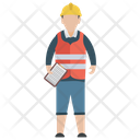 Construction Supervisor Site Supervisor Construction Foreman Icon