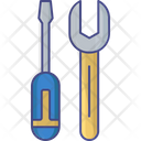 Construction Tools Industries Tools Wrench Tool Icon
