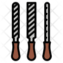 Construction Tools Metal Wood Icon
