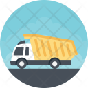 Transportation Construction Dumper Icon