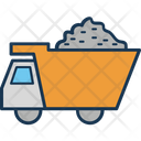 Construction Truck Dump Truck Transport Icon