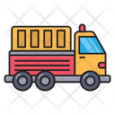 Truck Vehicle Construction Icon