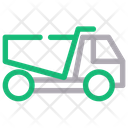 Construction Truck Dump Truck Garbage Truck Icon