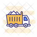 Construction Truck Tipper Truck Construction Vehicle Icon