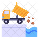 Water Waste Contaminated Water Construction Waste Icon