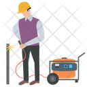 Construction Welder Icon