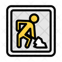 Construction Work Working Board Construction Icon