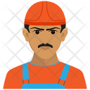Construction Worker Constructor Icon