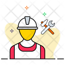 Labour Worker Construction Worker Icon