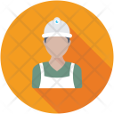 Foreman Construction Worker Icon