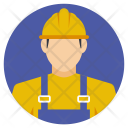 Civil Worker Builder Icon