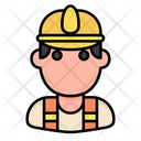 Construction Worker Worker Profession Icon