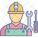 Construction Worker Building Construction Co Worker Icon