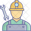 Construction Worker Building Construction House Construction Icon
