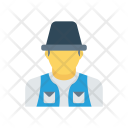 Worker Construction Professional Icon