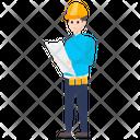 Constructor Builder Engineer Icon