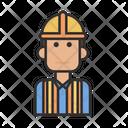 Constructor Builder Man Icon