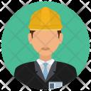 Constructor Construction Man Icon