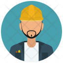 Constructor Construction Worker Icon