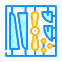 Constructor Model Toy Icon