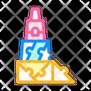 Constructor Puzzle Toy Icon