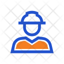 Constructor Worker Construction Icon
