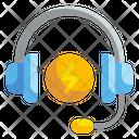 Consultancy Services Headphones Earphones Icon