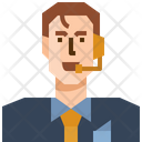 Occupation Avatar Consultant Icon