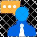 Consultant Concultancy Talk Icon