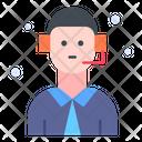 Consultant Customer Service Technical Support Icon
