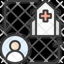 Distance Medicine Consultation Icon