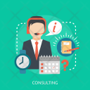Consulting Marketing Concept Icon