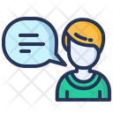 Consulting Support Bubble Icon
