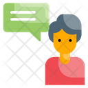 Business Chat Consulting Icon