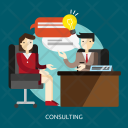Consulting Business Consultant Icon