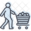 Consumable Acquisition Basket Icon