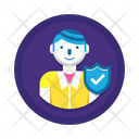 Consumer Protection User Protection Secure User Icon