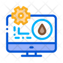 Gas Consumption Settings Icon