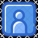Contact Friend Person Icon