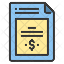 Contact Document Contract Icon