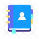 Contact Address Book Icon